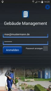 Business App für Facility Management